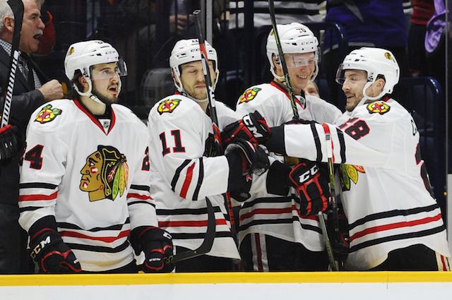 The Chicago Blackhawks have now won 12 games in a row. (USATSI)
