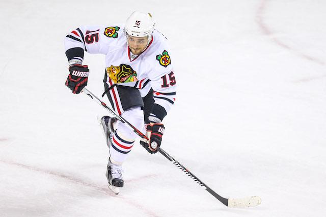 Artem Anisimov is just what the Chicago Blackhawks needed. (USATSI)