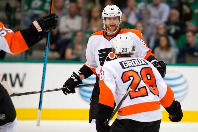 Claude Giroux and Jakub Voracek have been as consistent as two players can be for the Philadelphia Flyers. (USATSI)