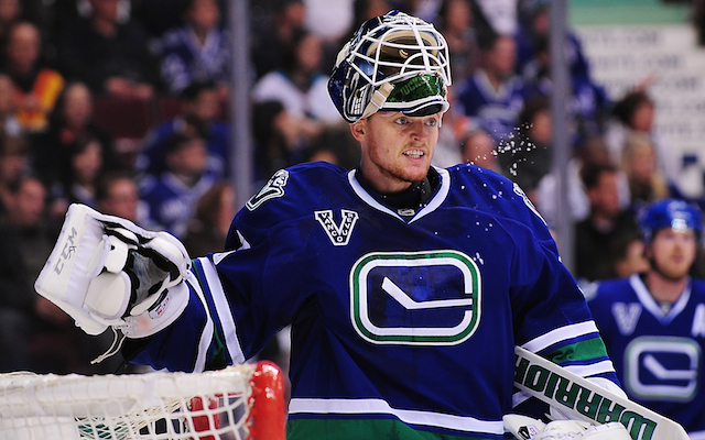 Could the Vancouver Canucks trade Cory Schneider instead of Roberto Luongo? (USATSI)