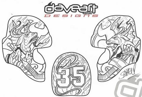 Devils Cory Schneider Reveals Fan Designed Goalie Mask For 2015 16