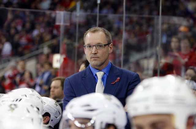 Dan Bylsma received a two-year contract extension in Pittsburgh. (USATSI)