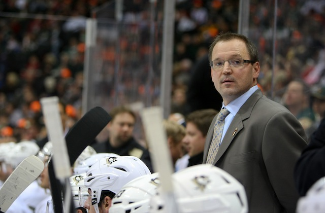 Dan Bylsma was introduced Saturday as the new coach for Team USA. (USATSI)