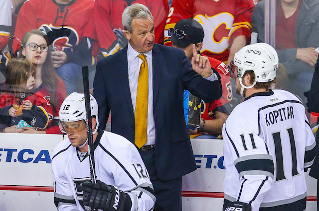 Darryl Sutter and the Los Angeles Kings should be back in the playoffs. (USATSI)