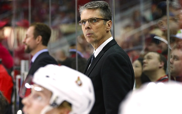 Dave Cameron is out as head coach of the Ottawa Senators. (USATSI)