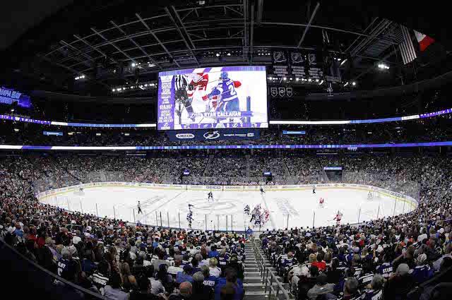 Amalie Arena, Home Of The Tampa Bay Lightning. (USATSI)