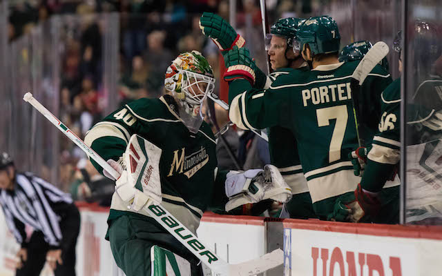 Devan Dubnyk was critical of the NHL's coach's challenge sytem. (USATSI)