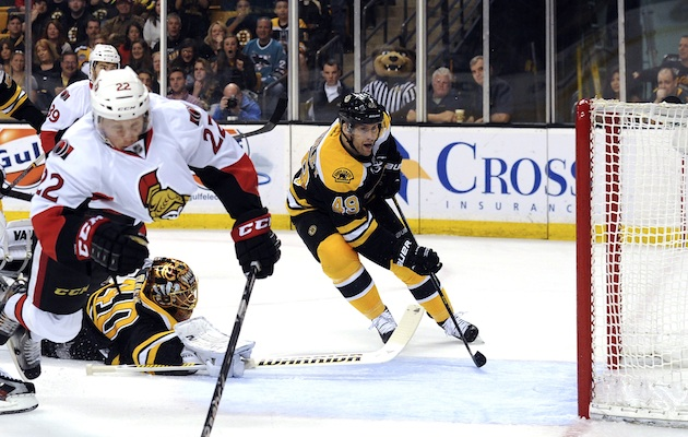 The Eastern Conference playoff field is set thanks to the Ottawa Senators win in Boston. (USATSI)