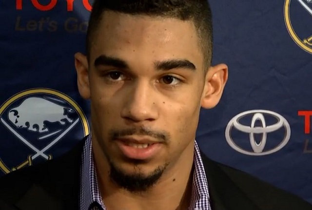 WATCH: Sabres' Evander Kane issues public apology amid ...