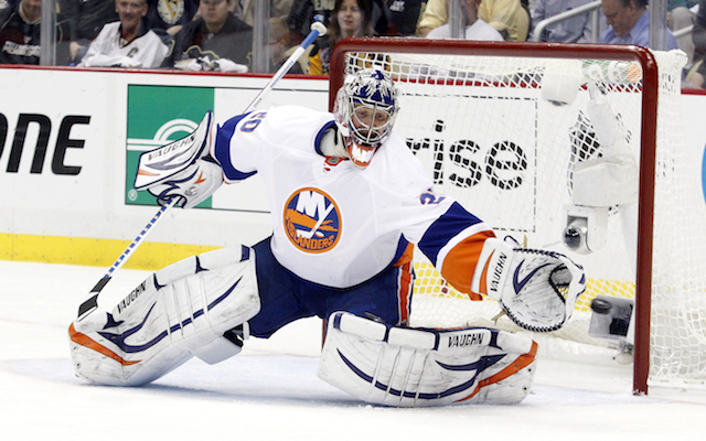 Evgeni Nabokov needs to be better for the Islanders in Game 6. (USATSI)