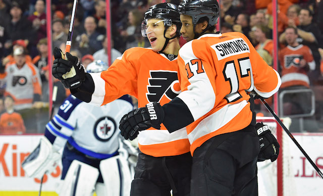 Wayne Simmonds and Brayden Schenn are now core players for the Philadelphia Flyers. (USATSI)