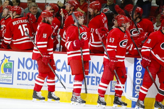 The Carolina Hurricanes made an interesting addition to their front office. (USATSI)