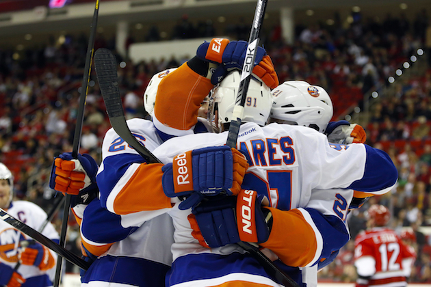 Yes, the New York Islanders are back in the playoffs. (USATSI)