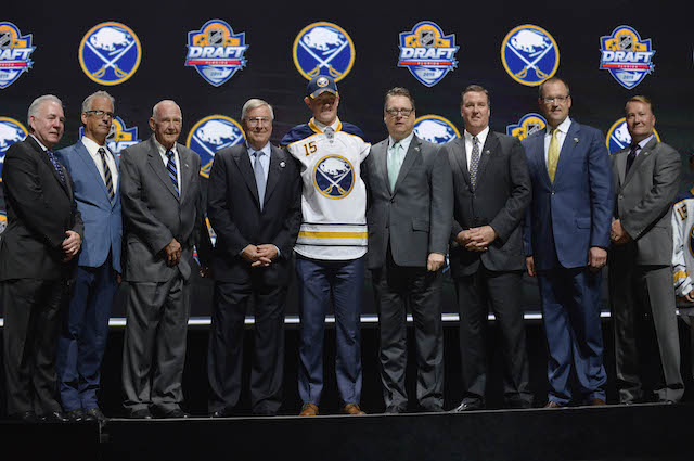 Jack Eichel gives Buffalo Sabres fans reason to believe in the team again. (USATSI)