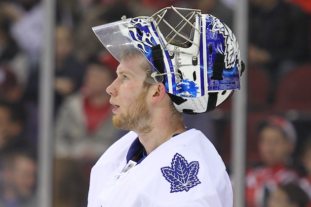 James Reimer is the reason the Toronto Maple Leafs are going to the playoffs. Now he needs some help. (USATSI)
