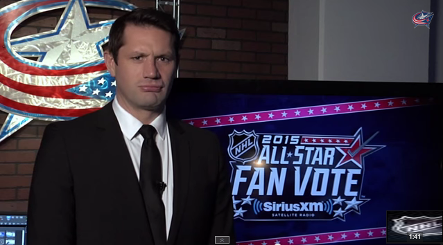 WATCH: Blue Jackets&39 All-Star campaign spoofs NHL player safety