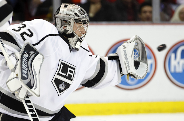 Nothing gets past Jonathan Quick in the playoffs. (USATSI)