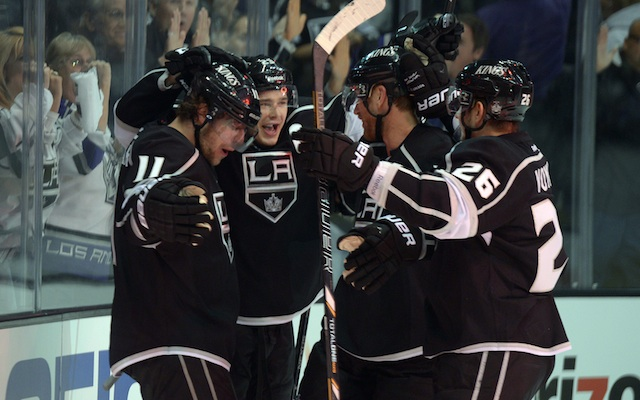 Dustin Brown and the Kings can eliminate St. Louis with a win on Friday. (USATSI)