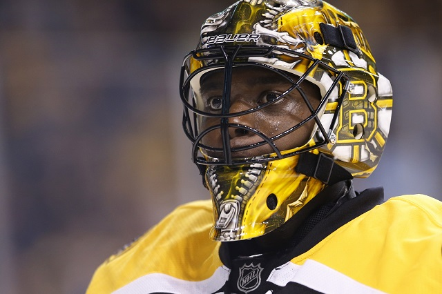 Bruins Malcolm Subban Hospitalized After Puck Fractured His Larynx