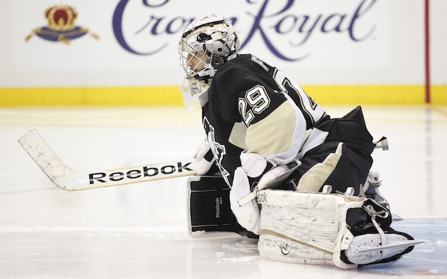 The Minnesota Wild are rumored to have expressed interest in Marc-Andre Fleury. (USATSI)