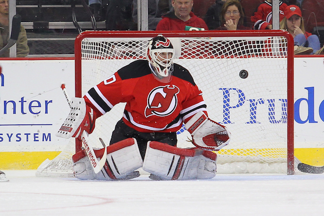 Martin Brodeur and the New Jersey Devils went from the Stanley Cup Final to out of the playoffs. (USATSI)