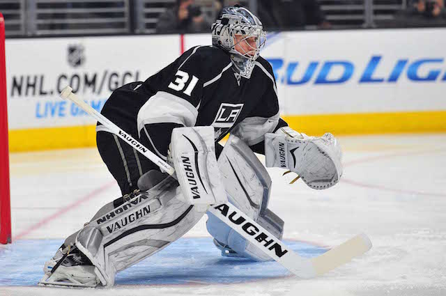 Martin Jones is on his way to the San Jose Sharks. (USATSI)