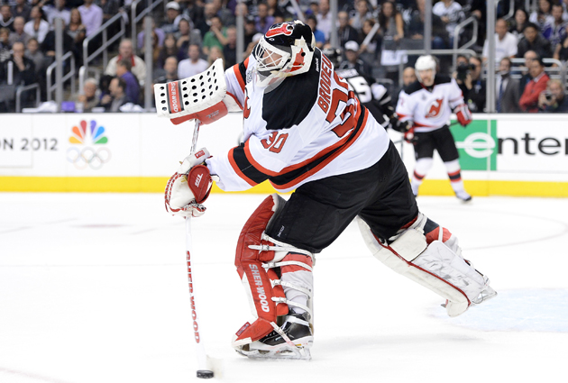Martin Brodeur has been placed on injured reserive. (Getty Images)