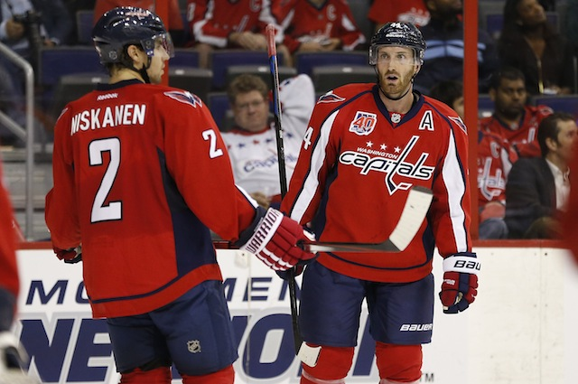 Matt Niskanen and Brooks Orpik return to Pittsburgh to play the Penguins as members of the Washington Capitals. (USATSI)