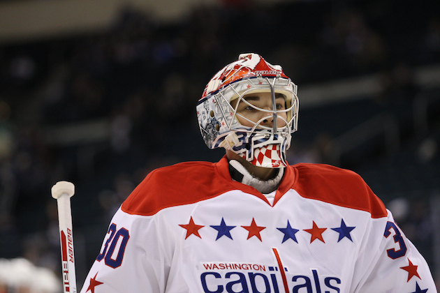 The Washington Capitals have re-signed Michal Neuvirth to a two-year contract extension. (USATSI)