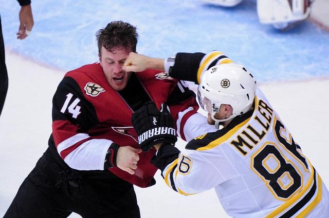 Kevan Miller took it to Joe Vitale in this fight. (USATSI)