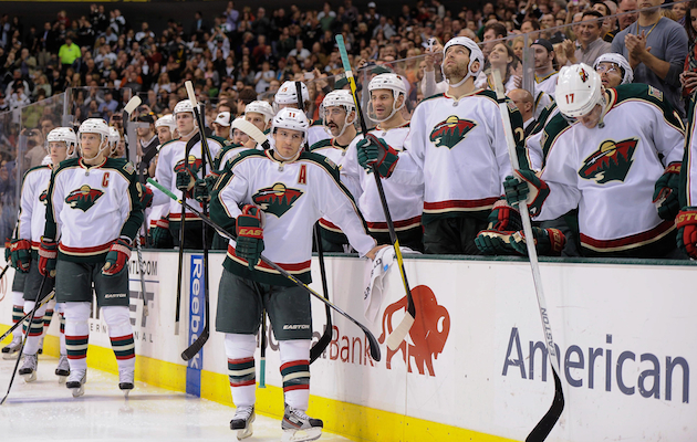 The Minnesota Wild need to start getting some wins to secure their playoff spot. (USATSI)