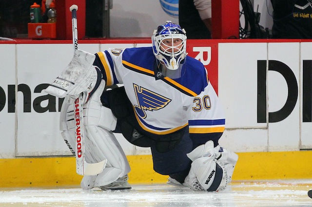 new style 8b6d1 bda1e NHL Daily Picks: Martin Brodeur to debut for Blues ...
