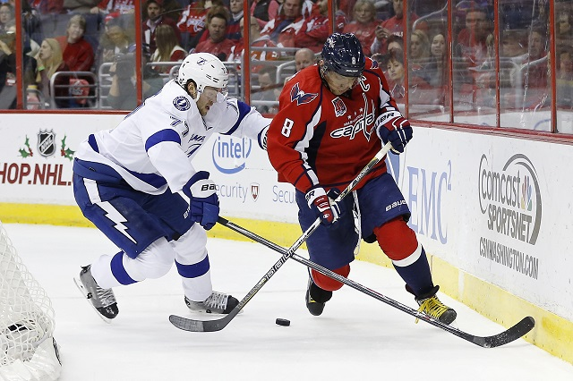 The Lightning and Capitals enter 2015-16 as Stanley Cup favorites. (USATSI) e492ccebc12