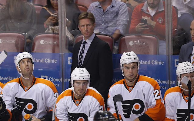 The Philadelphia Flyers are looking for the first win of the Dave Hakstol era. (USATSI)