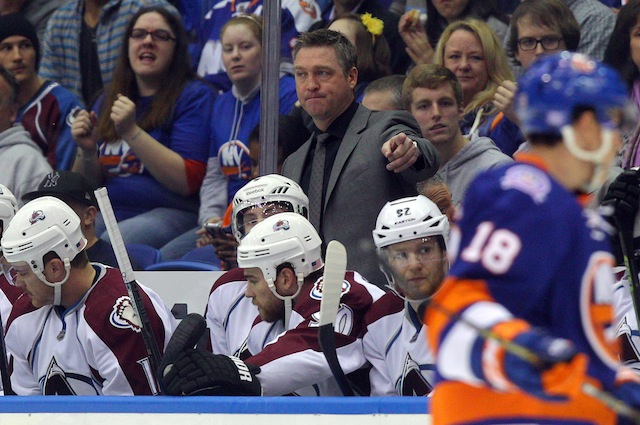 Patrick Roy and the Colorado Avalanche might already be in some trouble. (USATSI)