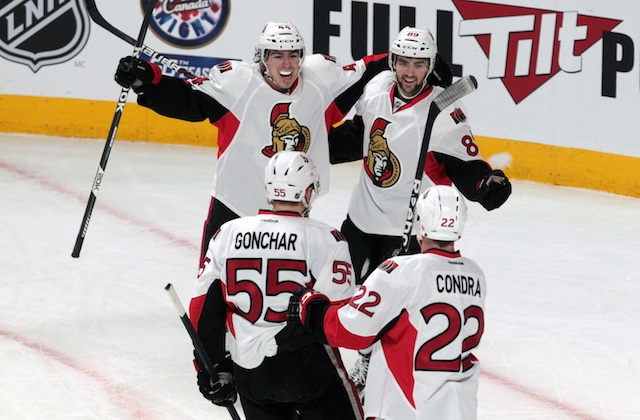 The Ottawa Senators are moving on after beating the Montreal Canadiens. (USATSI)