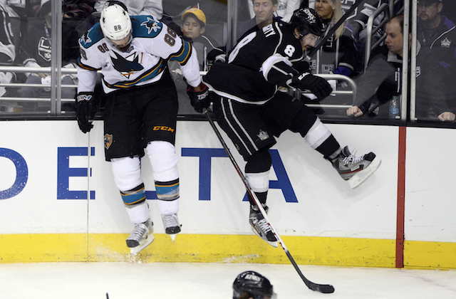 The Kings and Sharks played an incredible Game 7 on Tuesday night. (USATSI)