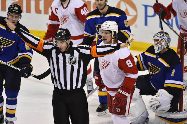 NHL teams are not getting a lot of power play opportunities. (USATSI)