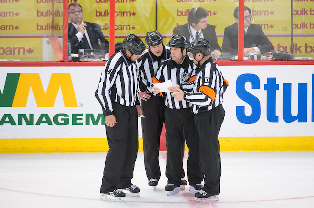 The NHL can increase scoring by simply calling more penalties. (USATSI)