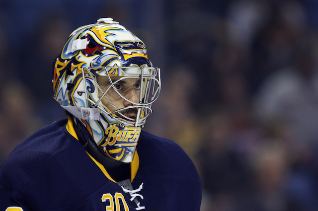 The Buffalo Sabres are still getting new pieces as a part of the Ryan Miller trade one year later. (USATSI)