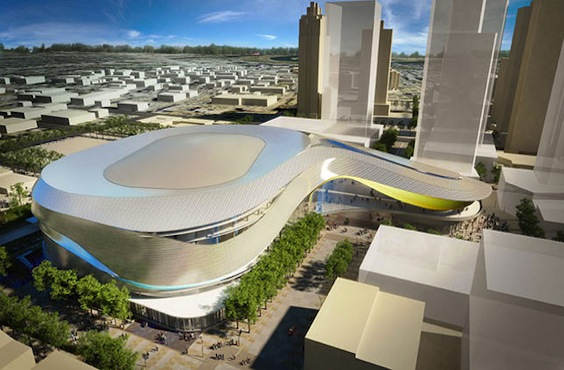 The city of Edmonton and the Oilers have agreed on funding for a new arena. (Oilers)