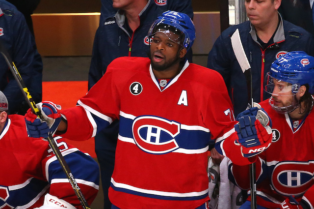 P.K. Subban was ejected Wednesday night but he reportedly will not be suspended. (USATSI)