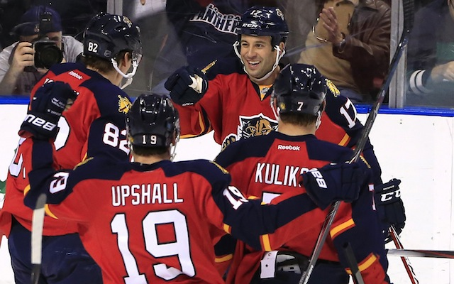 The Florida Panthers needed a 20-round shootout to defeat the Washington Capitals on Tuesday night. (USATSI)