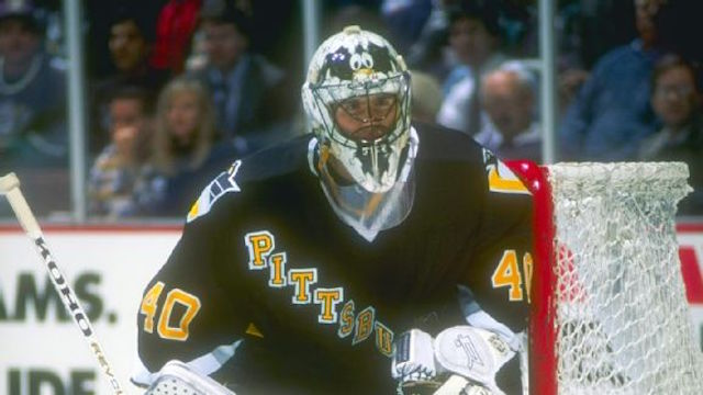 Patrick Lalime started his career with a 14-0-2 record. (Getty Images)