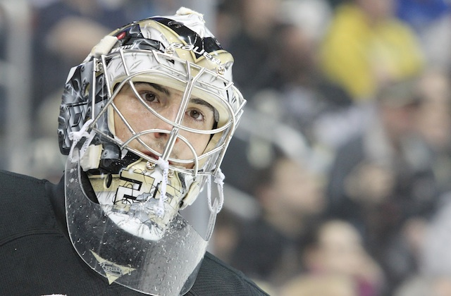 What do with Marc-Andre Fleury is just one of the Pittsburgh Penguins decisions this offseason. (USATSI)