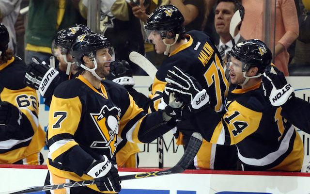 a1c00577aba Matt Cullen scored another big goal for the Pittsburgh Penguins. (USATSI)