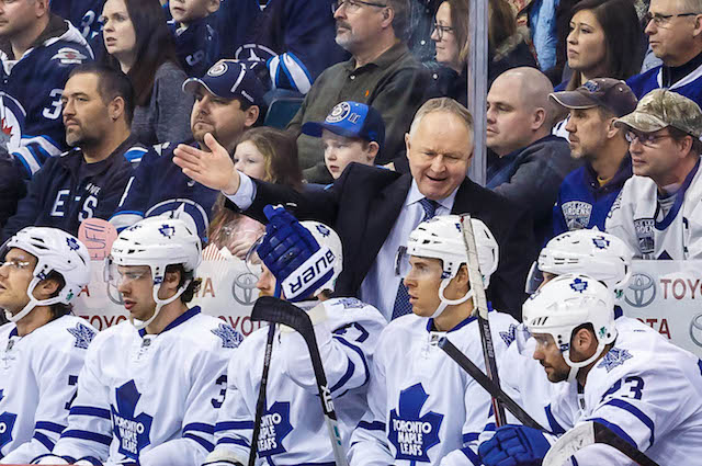 Report: Sharks have permission to interview Randy Carlyle
