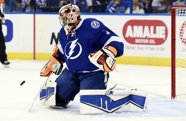 The Tampa Bay Lightning cut Ray Emery from his tryout. (USATSI)
