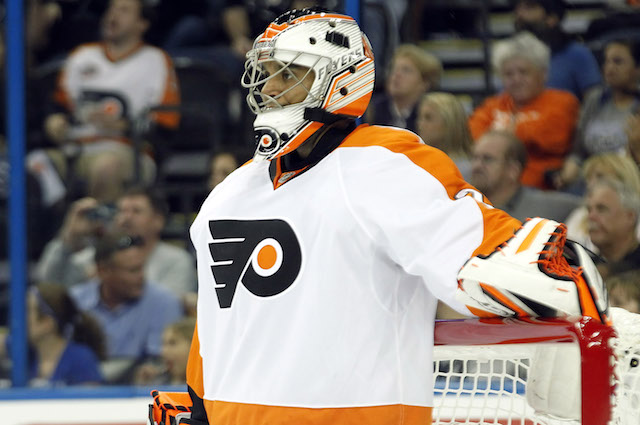 Ray Emery has a training camp tryout with the Tampa Bay Lightning. (USATSI)
