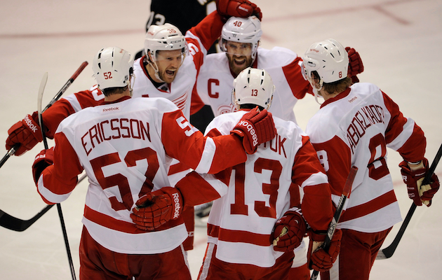 The Detroit Red Wings are back in the playoffs. (USATSI)